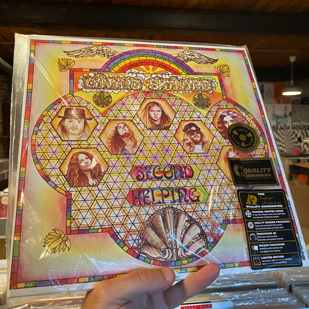 LYNYRD SKYNYRD - SECOND HELPING (ANALOGUE PRODUCTIONS 2xLP)