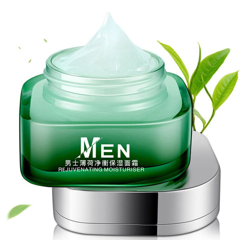 men cream face oily skin and dry skin Acne Treatment Oil-control  50ml herbal cream  facial cream Male