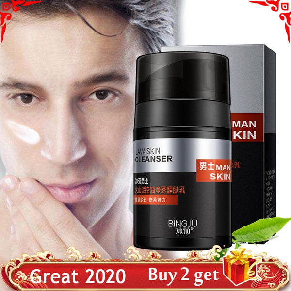 Men Anti Aging Face Cream Deep Moisturizing Oil-control Skin Care Brighten Tone Up Cream Anti Wrinkle Day Cream for Mens Cream