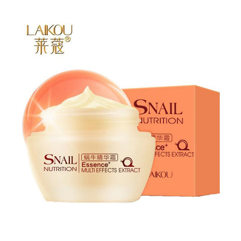 LAIKOU Face Care Cream Korean Snail White Cream Moisturizing Anti-Aging Acne Anti Wrinkle Day Cream