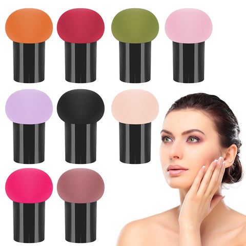 Professional Makeup Puff Foundation Powder Liquid Cream Sponge Smooth Mushroom Shape Cosmetic Puff Sponge Beauty Tools Gifts