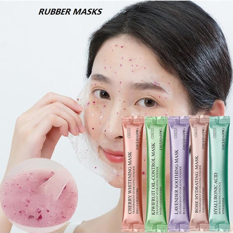 Hot 15G DIY SPA Collagen Rose Hyaluronic Acid Soft Mask Powder Face Mask Anti Aging Anti Wrinkle Peel Off Rubber Facial Mask