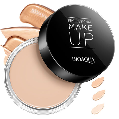 BIOAQUA Concealer Cream Full Cover Pore Blemish Oil Control Long-lasting Moisturizing Base Primer Makeup Fundatin TSLM2