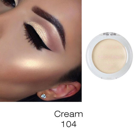 PHOERA Eyeshadow Highlighter Make Up Shimmer Cream Face Highlight Eyeshadow Glow Bronzer maquiagem profissional comple Hot TSLM2