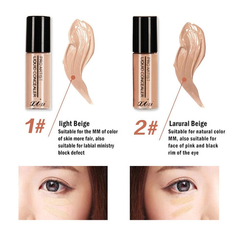 Professional Liquid Concealer Make-up Cover Dark Circle Covering Foundation Full Cover Contour Base Makeup Makeup TSLM1
