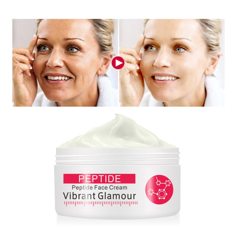 1Pc Anti-aging Whitning Cream Pore Shrink Moisturizer Face Cream 5 Seconds Firming Skin Peptide Wrinkle Remover Cream TSLM2