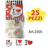 "Marshmallow ""I love you"" 25x4g"