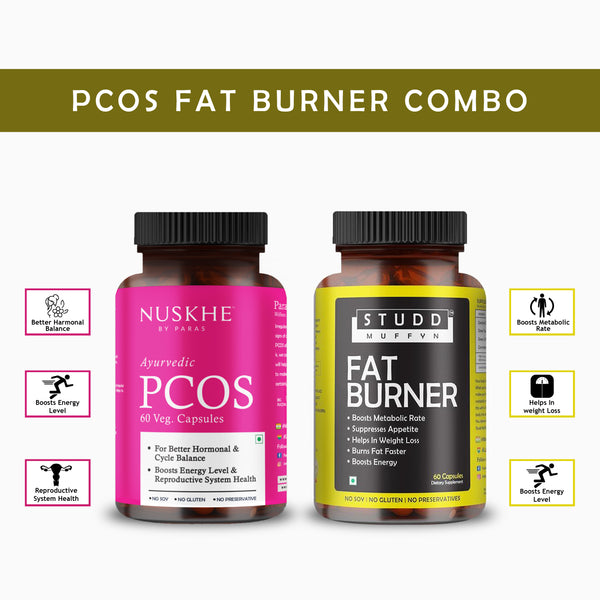 PCOS Fat Burner combo - for Women Only