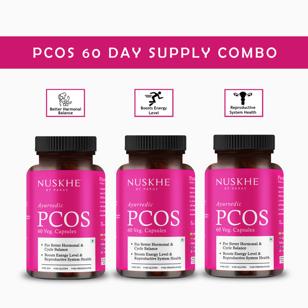 PCOS 60 Day supply combo - for Women Only