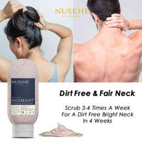 Nuskhe by Paras Neck Bright Whitening Body Scrub