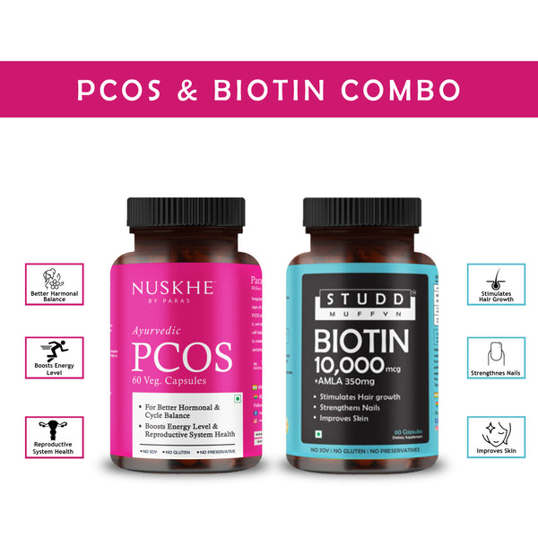 PCOS x Biotin Combo - for Women Only