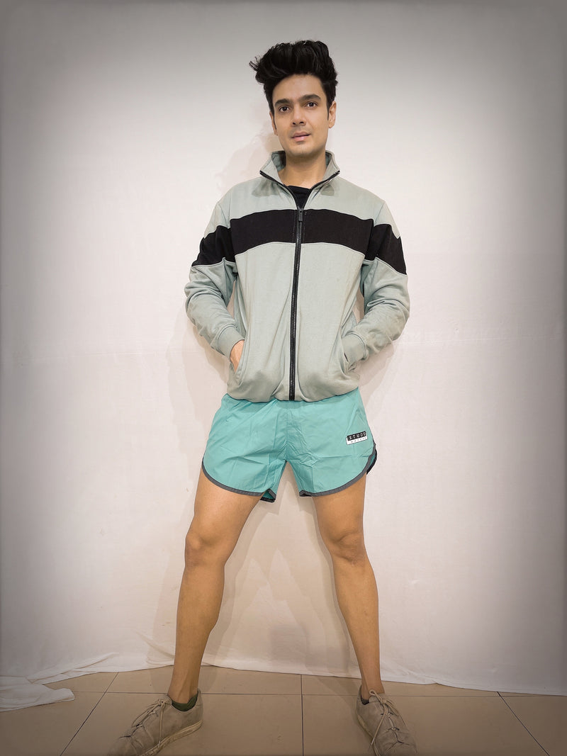 "Studd Muffyn ""Feels Like Naked""Shorts- Aquamarine"