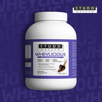 Studd Muffyn Wheylicious ,Concentrate Protein ( Chocolate -1KG / 2 KG )