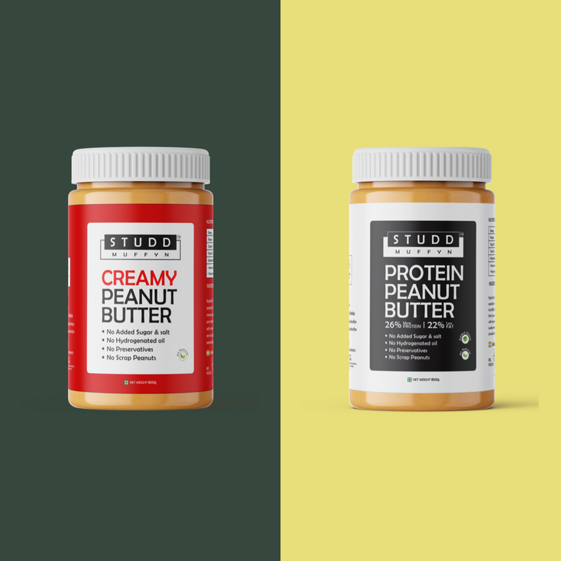 "Studd Muffyn Peanut Butter ""Two"" good to choose!"