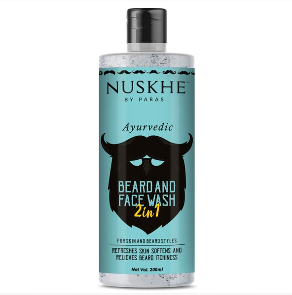 Nuskhe by Paras Beard & Face wash 2-in-1