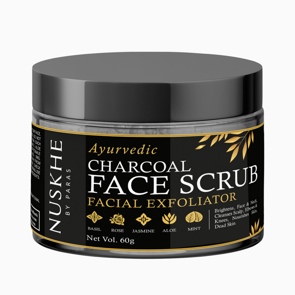 Nuskhe By Paras Charcoal Face Scrub