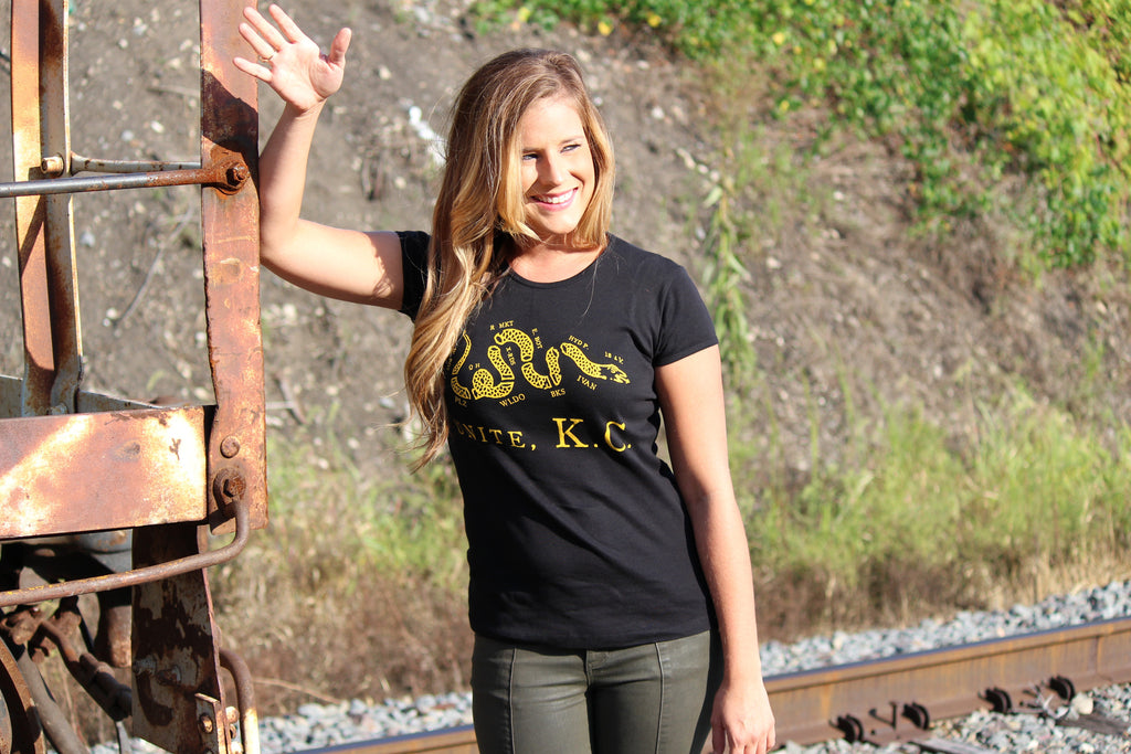 Lady's Unite, KC (Black & Gold)