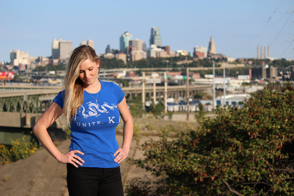 Lady's Unite, KC (Blue & White)
