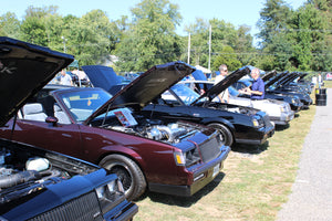1987 Buick GN Turbo Regal in Car Show at Cecil County MD Northeast GS/GN club event.