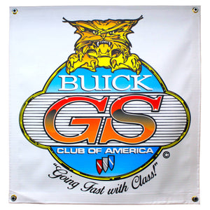 "Standard Buick GSCA Banner ~ 25"" SQ"