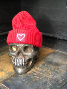 Find what you love beanie  RED