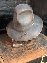 "Load image into Gallery viewer, Vintage rare custom hat ""Boho-ndage"""