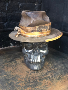 "Vintage Rare Custom cowboy hat , ""THE GUNNY SACK"""