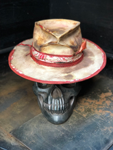 "Load image into Gallery viewer, Vintage Rare Custom hat ""bloody peach """
