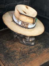 "Load image into Gallery viewer, Vintage rare custom hat ""light blue temptations """
