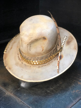 "Load image into Gallery viewer, Vintage Rare Custom Hat , "" BOHO PICK CHIC """