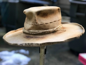 "Vintage Rare Custom Hat ""i'm not the only one"""