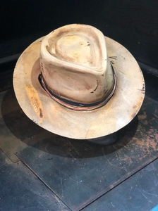 "Vintage Rare Custom Hat, ""Blind date with a carpenter """