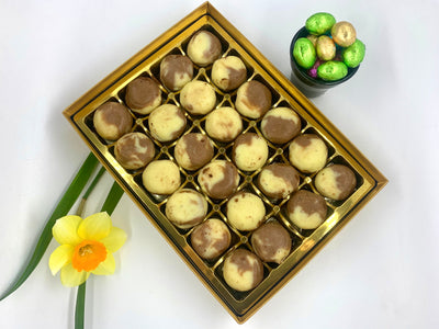 Easter Mini Marble Chocolate Barfi