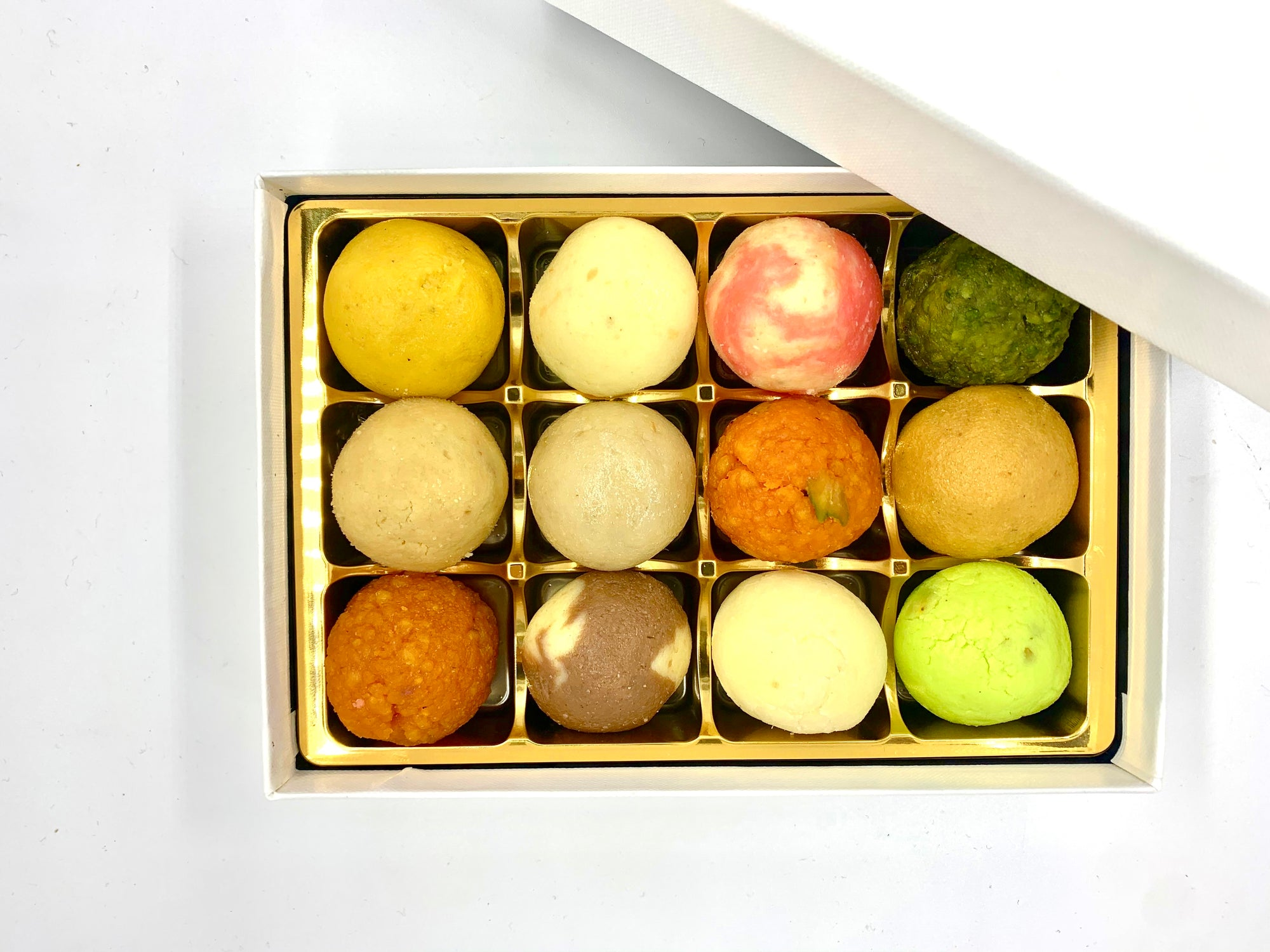 Gluten Free Mini Mixed Mithai: Gift Box