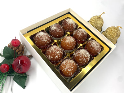 Premium Selection: Mini Gulab Jamun (Coconut)