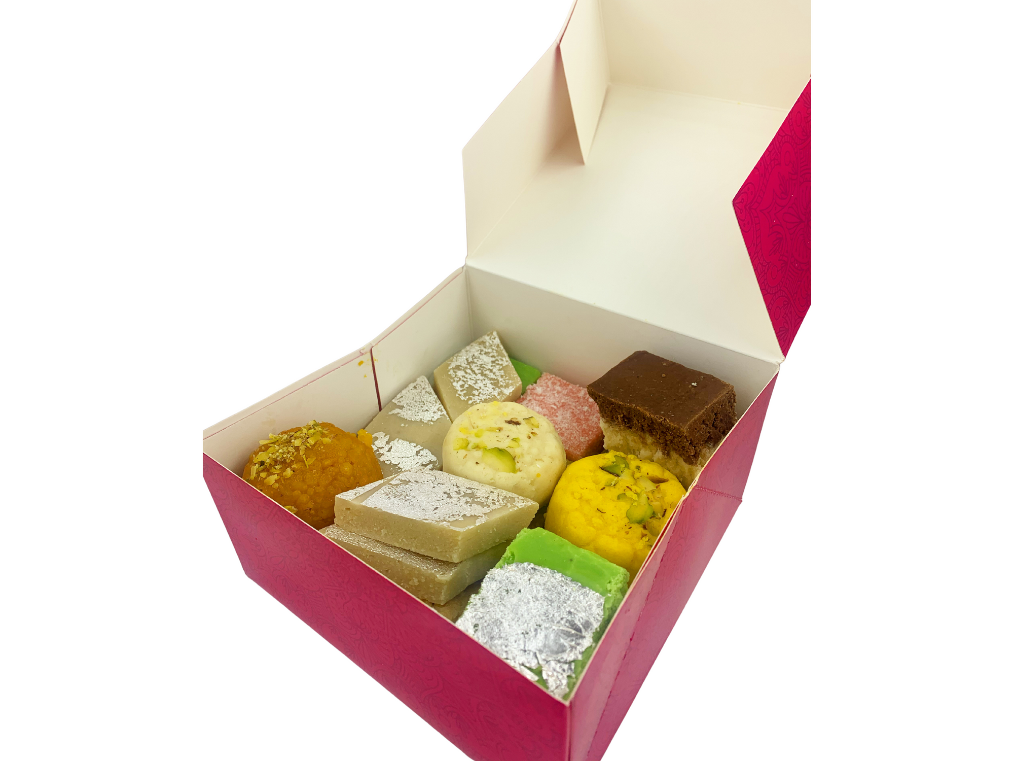 Mixed Mithai: 1kg Gift Box (Bulk Orders Only)