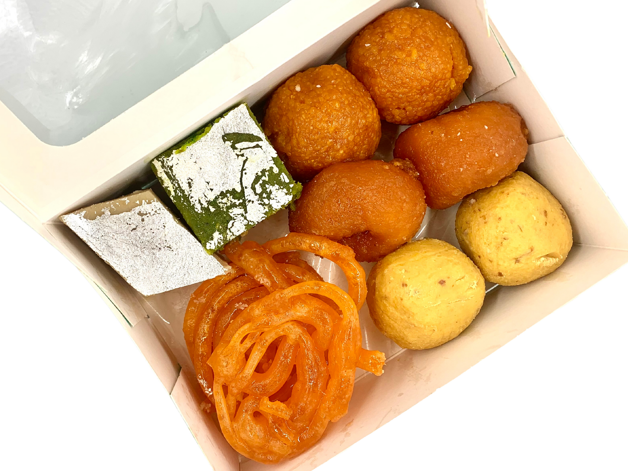 Vegan Mixed Mithai: 1kg Gift Box (Bulk Orders Only)