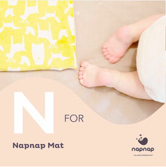 N is for NapNap mat a baby sleep product award winning help with baby sleep problems