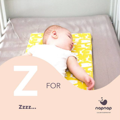 Baby sleep mat from NapNap sleep tips for babies help babies sleep with vibrations and white noise