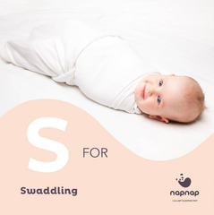 Swaddling tips for babies from napnap mats baby sleep aid product