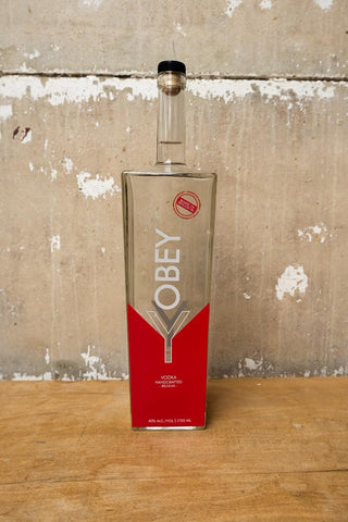 Limited edition OBEY Vodka 1750ml 40% alc./vol.