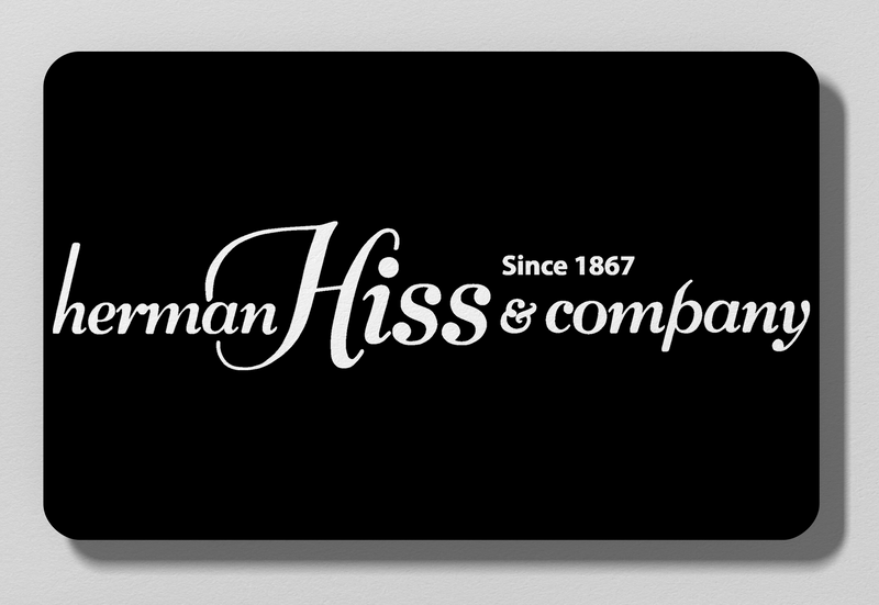 Herman Hiss Gift Card