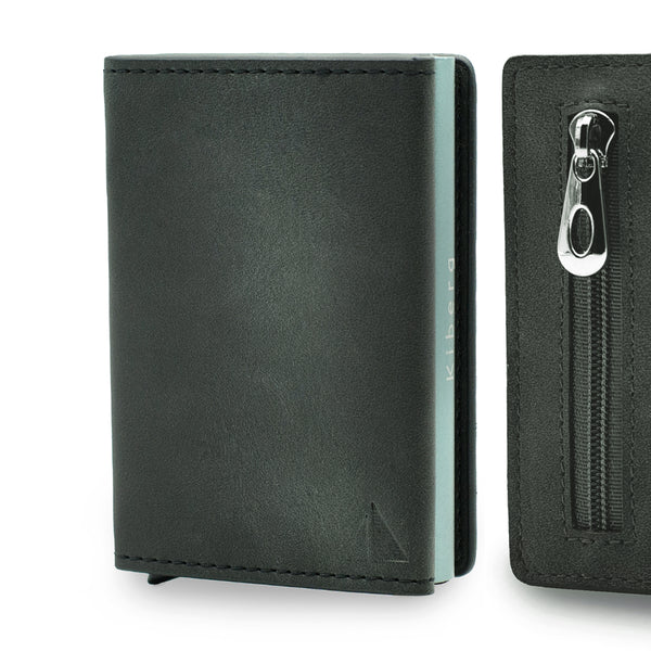 Card Holder II - NERO - con portamonete