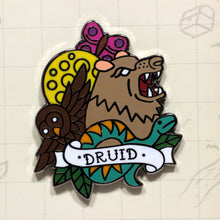 Load image into Gallery viewer, Druid - D&D Dungeon Crawler Enamel Class Pin