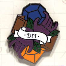 Load image into Gallery viewer, Dungeon Master - D&D Dungeon Crawler Enamel Class Pin