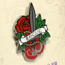 Load image into Gallery viewer, Rogue - D&D Dungeon Crawler Enamel Class Pin