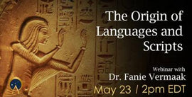 The Origin of Languages and Scripts