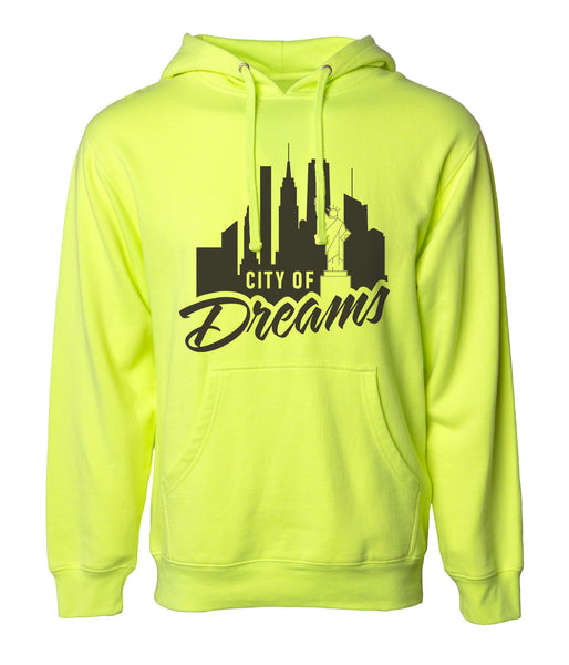 CODNY ADULT HIGH VISIBILITY JOBSITE SAFETY HOODIE