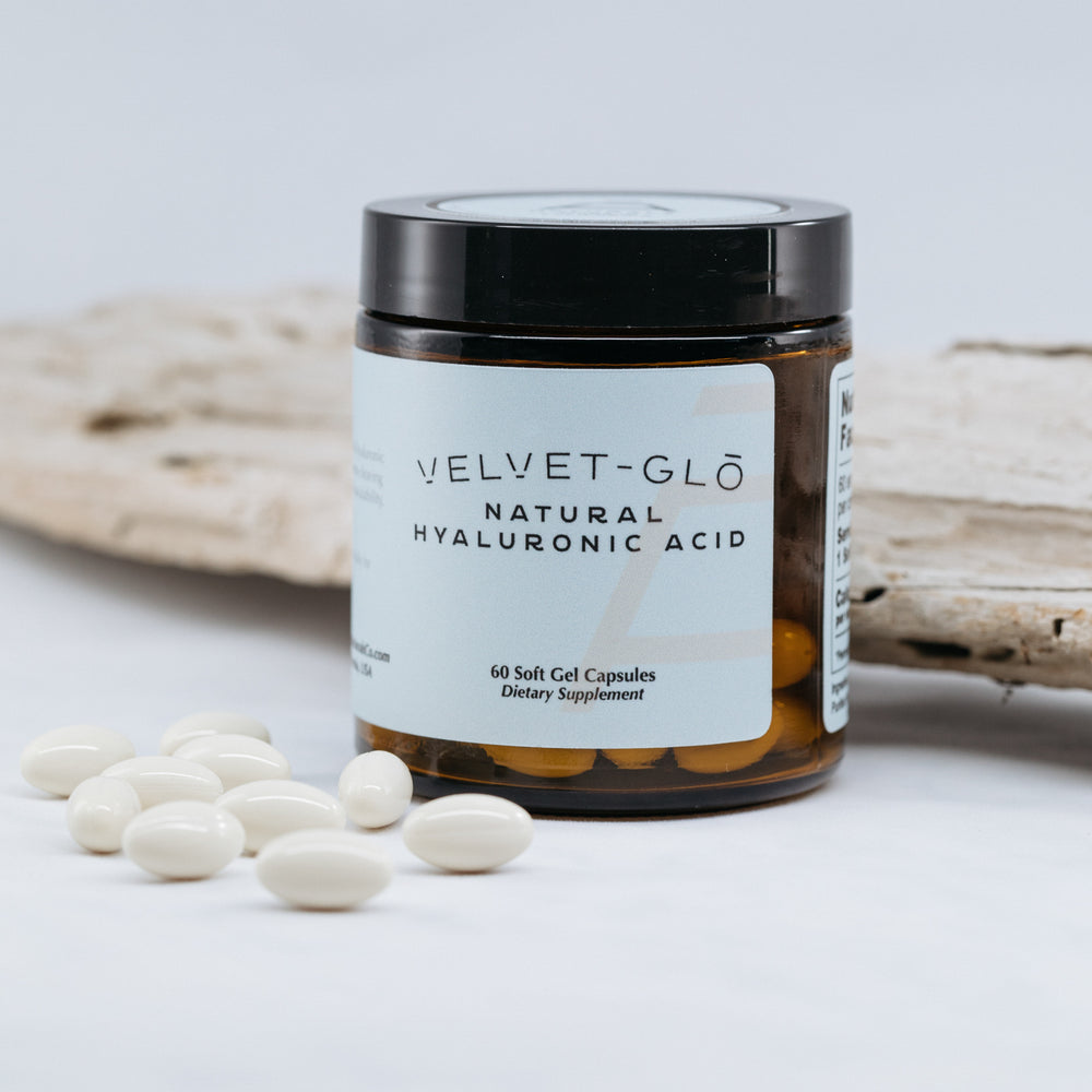 Velvet-GLŌ Natural Hyaluronic Acid Supplement