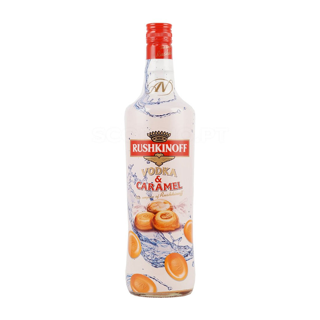 Vodka Rushkinoff Caramelo 1L